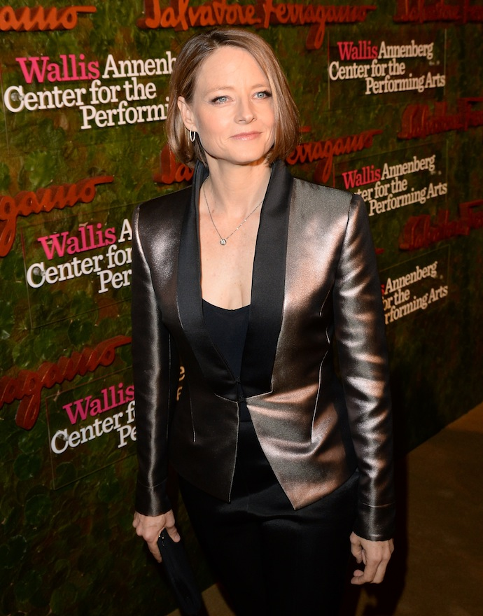 Actress Jodie Foster arrives at the Wallis Annenberg Center for the Performing Arts Inaugural Gala