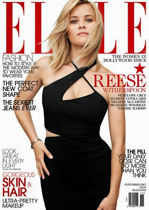 Reese Witherspoon by Thomas Whiteside for ELLE US November 2013