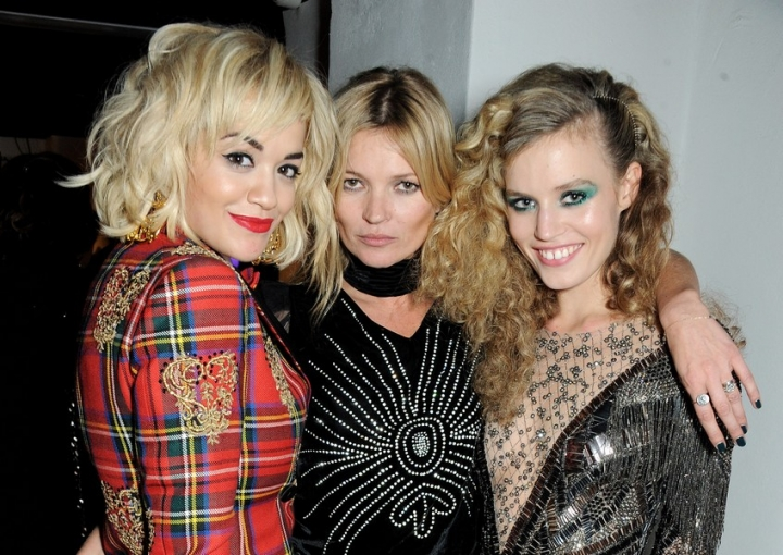 Rita Ora, Kate Moss, Georgia May Jagger for rimmel