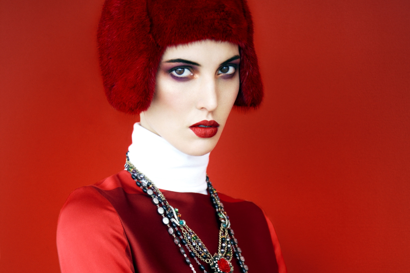 Ruby Aldridge By Erik Madigan Heck For Harper's Bazaar Russia November 2013