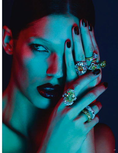 Samantha Gradoville By Ben Hassett For Vogue Germany November 2013