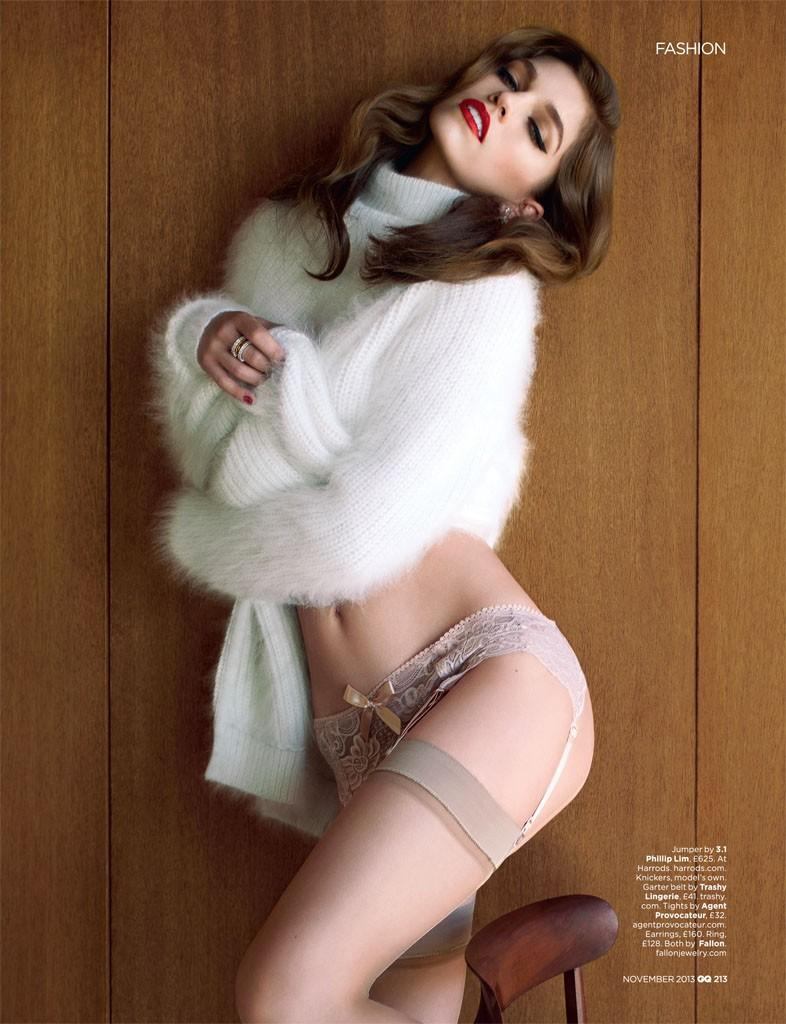 Samantha Gradoville by Stevie and Mada for GQ Magazine UK October 2013