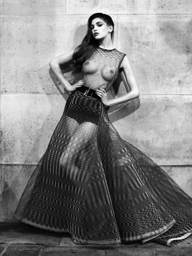 Samantha Gradoville by Victor Demarchelier for Antidote Magazine Fall 2013