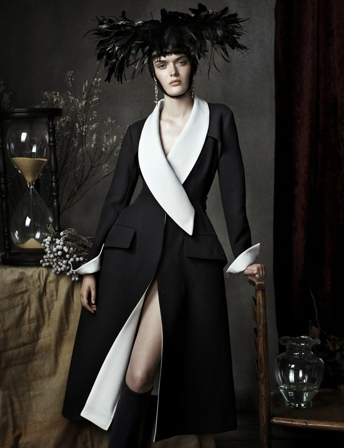 """Still Life"" by Josh Olins for Vogue UK  December 2013"