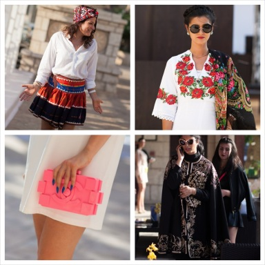 Street Style at Fashion Forward Dubai Season 2 Photo by Moez Achour