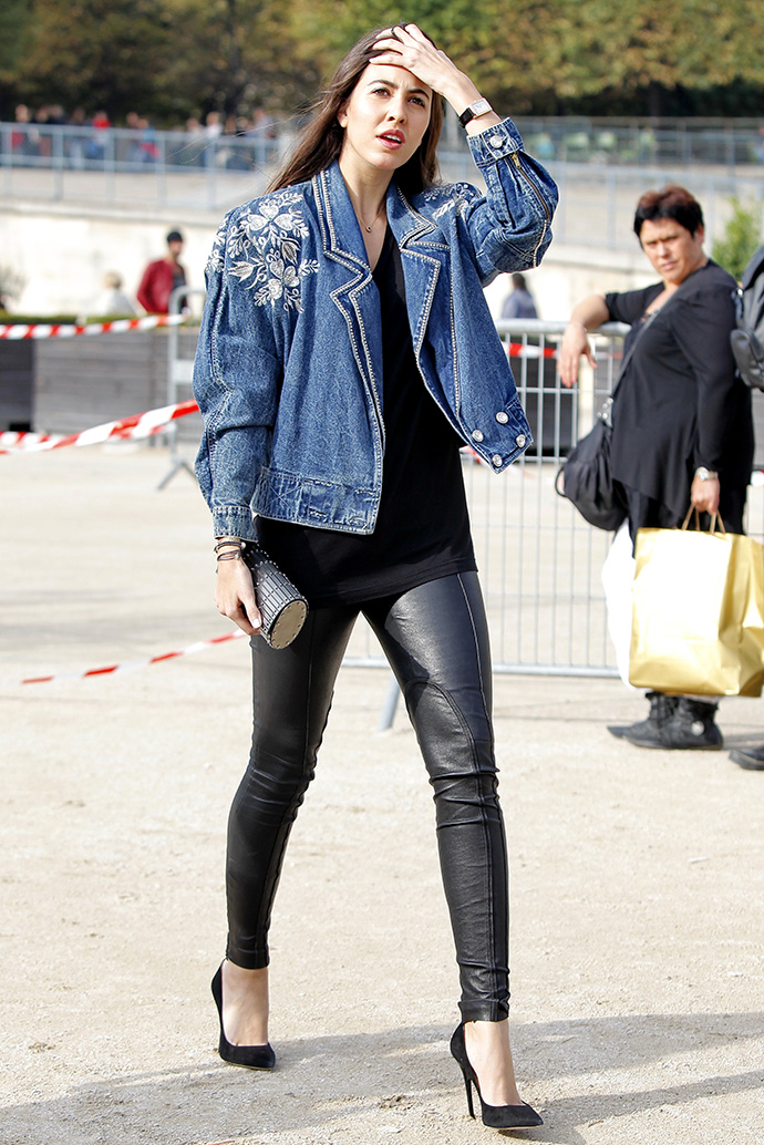 Street style at paris fashion week spring summer 2014 part3
