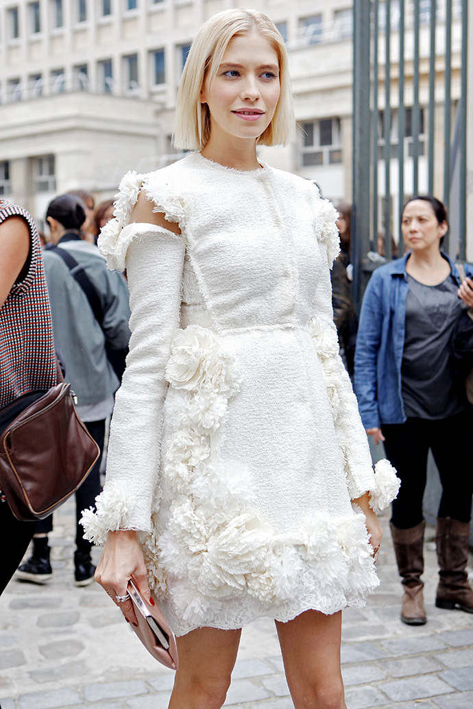 Street Style At Paris Fashion Week Spring Summer 2014 Part3 The Citizens Of Fashion