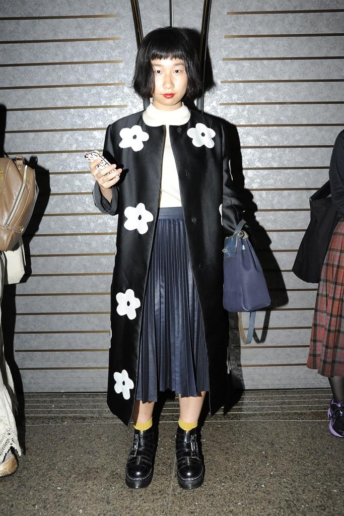 Street style at Tokyo Fashion Week spring/summer 2014
