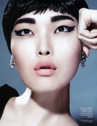 Sung Hee Kim by Kenneth Willardt for Vogue China November 2013