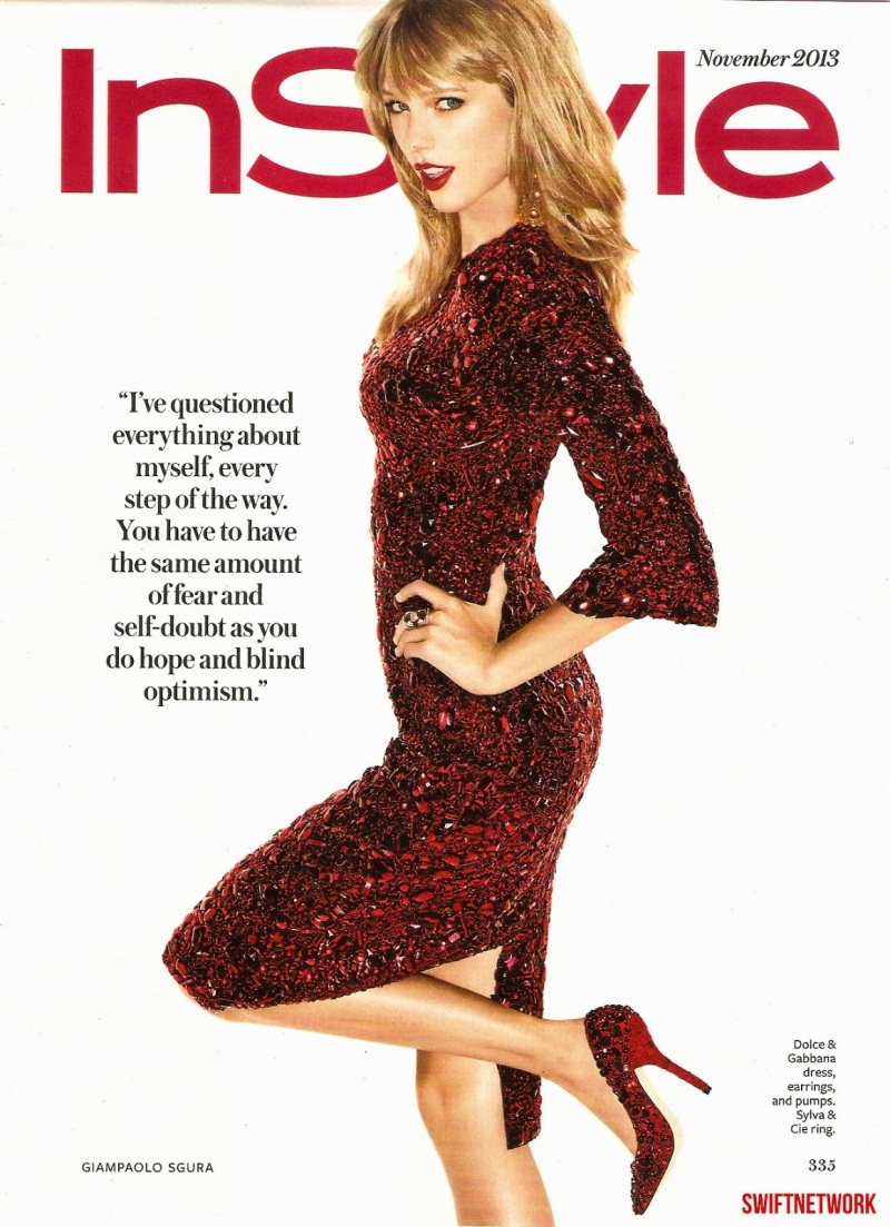 Taylor Swift by Giampaolo Sgura for Instyle US November 2013