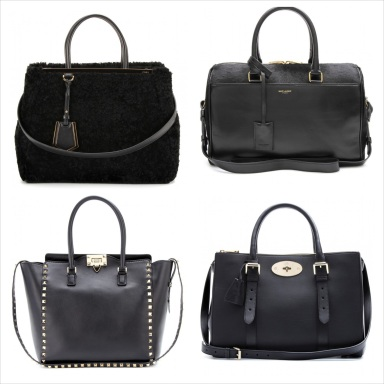 The Black Doctor Bag, a must for this fall