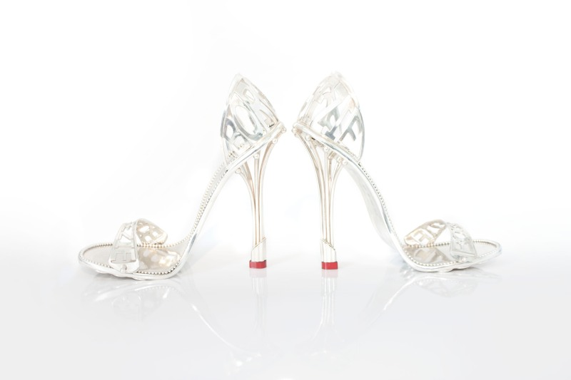 The Borgezie Platinum Cleopatra Stiletto