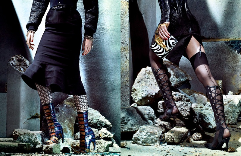"""""""They Are Coming"""" by Sebastian Mader for Vogue Russia"""