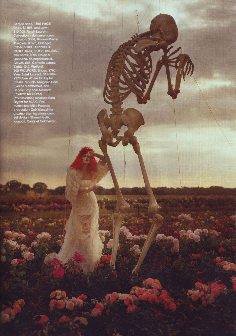 """Tim Burton's Tricks & Treats""  by Tim Walker for Harper's Bazaar October 2009"