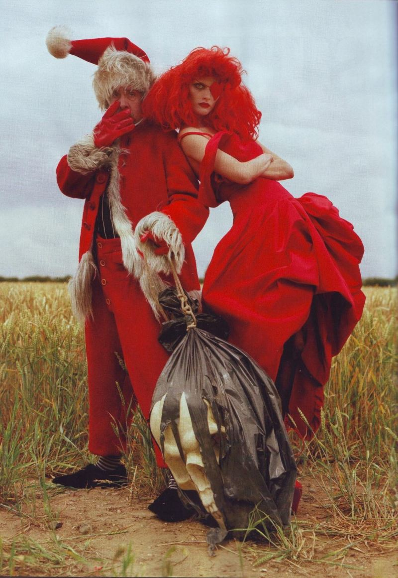 """Tim Burton's Tricks & Treats""  by Tim Walker for Harper's Bazaar October 2009"