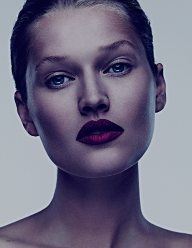 Toni Garrn by Ben Hassett for Vogue Japan Deceber 2013