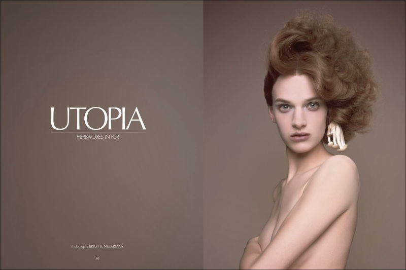 """Utopia"" by Brigitte Niedermair for CR FASHION BOOK #3"