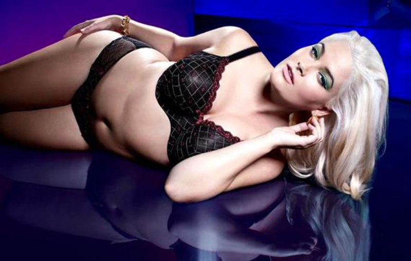 Whitney Thompson for Panache Lingerie's new Sculptresse line