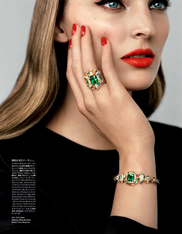 Ymre Stiekema by Alasdair McLellan for Vogue Japan December 2013