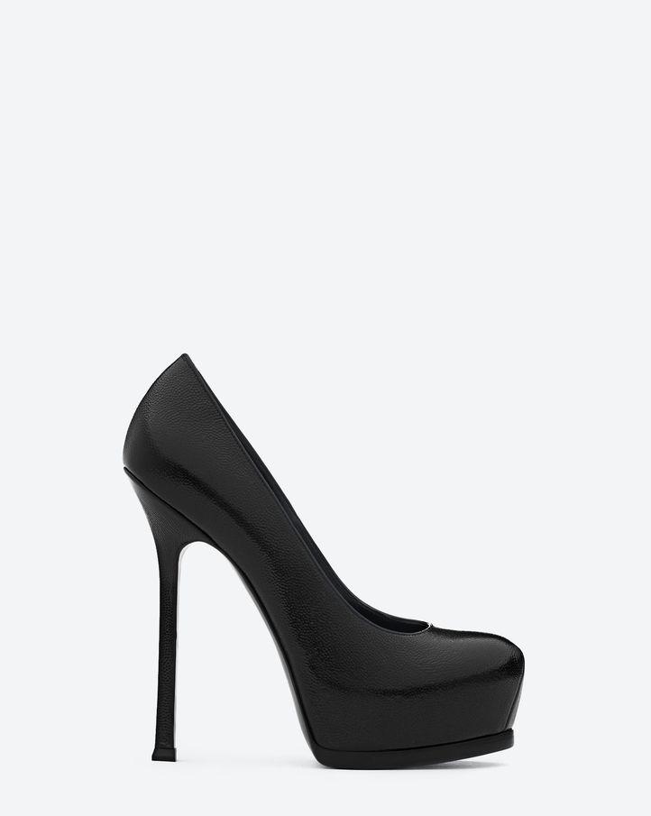 Yves Saint Laurent's signature Tribute shoe by Francesco Russo