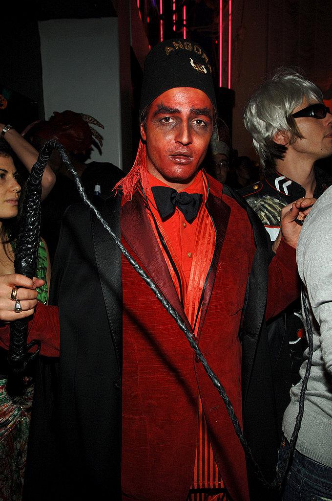 Zac Posen At Heidi Klum's annual Halloween bash in New York in 2005.