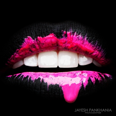 """Colour Run, Lip Series"" by Karla Powell , Photo : Jayesh Pankhania"