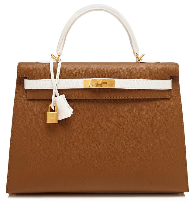35Cm Toundra & White Epsom Leather Sellier Kelly $29,500
