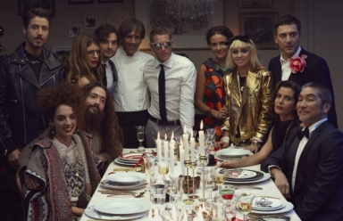 A dinner party in Milan by Yoox for Christmas 2013