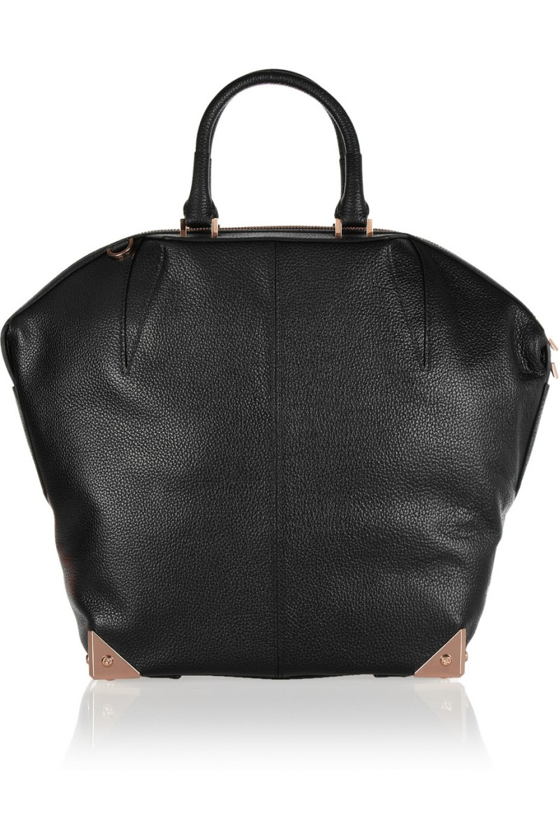 ALEXANDER WANG The Emile large textured-leather tote €1,000
