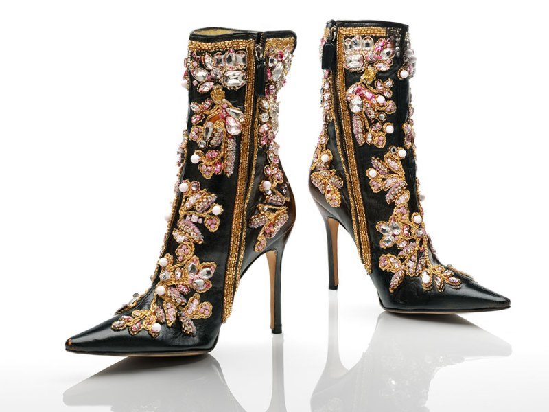 Ankle boots, designed by Dolce & Gabbana, 2000