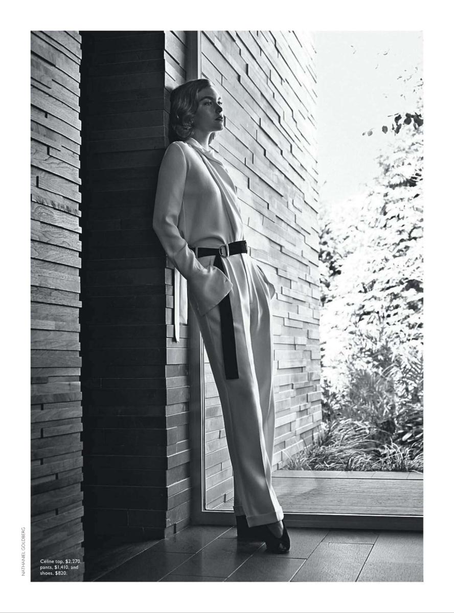Arizona Muse by Nathaniel Goldberg for Vogue Australia December 2013