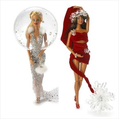Barbie by Stephen Jones for Christmas 2013