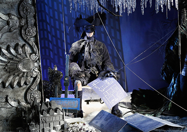 Bergdorf Goodman's Holidays on Ice Windows for Christmas 2013