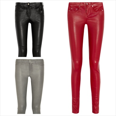 Best leather pants fall 2013
