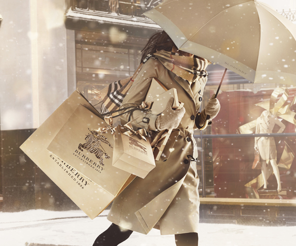 Burberry With Love ad campaign for Christmas 2013