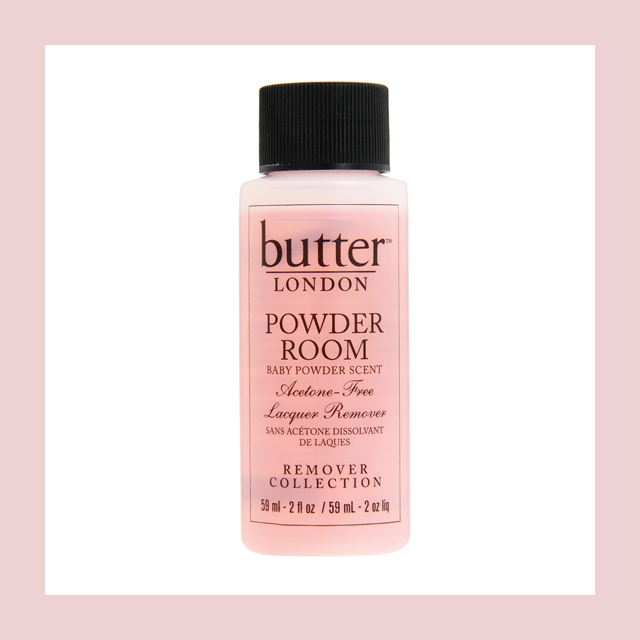 Butter London, Powder Room Acetone-Free Laqcuer Remover