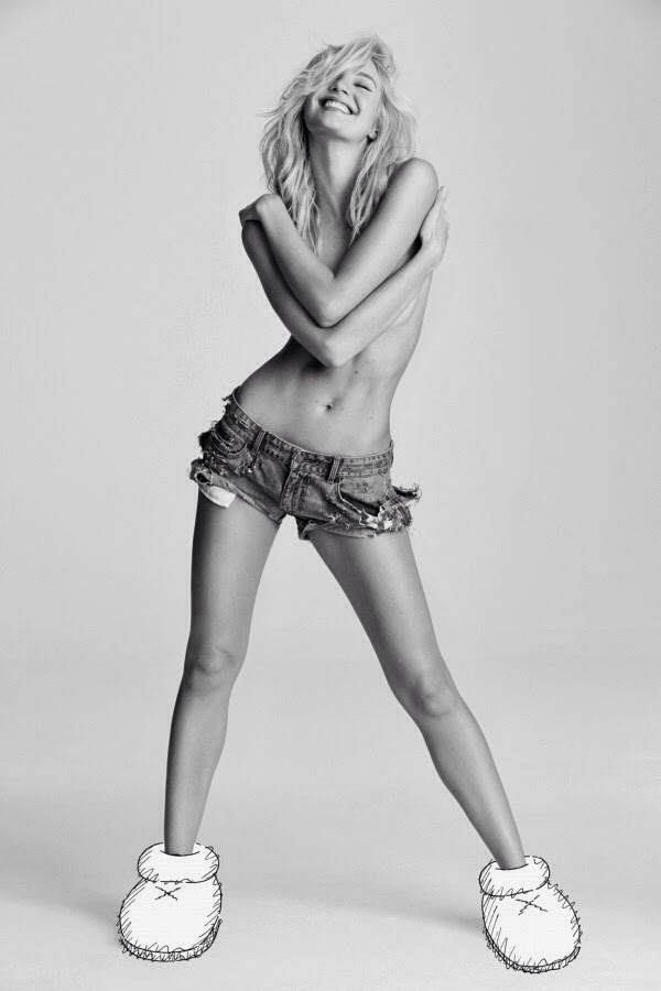 Candice Swanepoel by Matt Jones for i-D Magazine Fall 2013