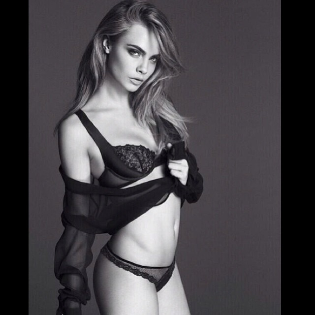 Cara Delevingne by Mert & Marcus for La Perla Spring/Summer 2014 Ad Campaign
