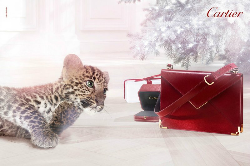 Cartier Winter Tale Campaign Christmas 2013 by Coppi Barbieri