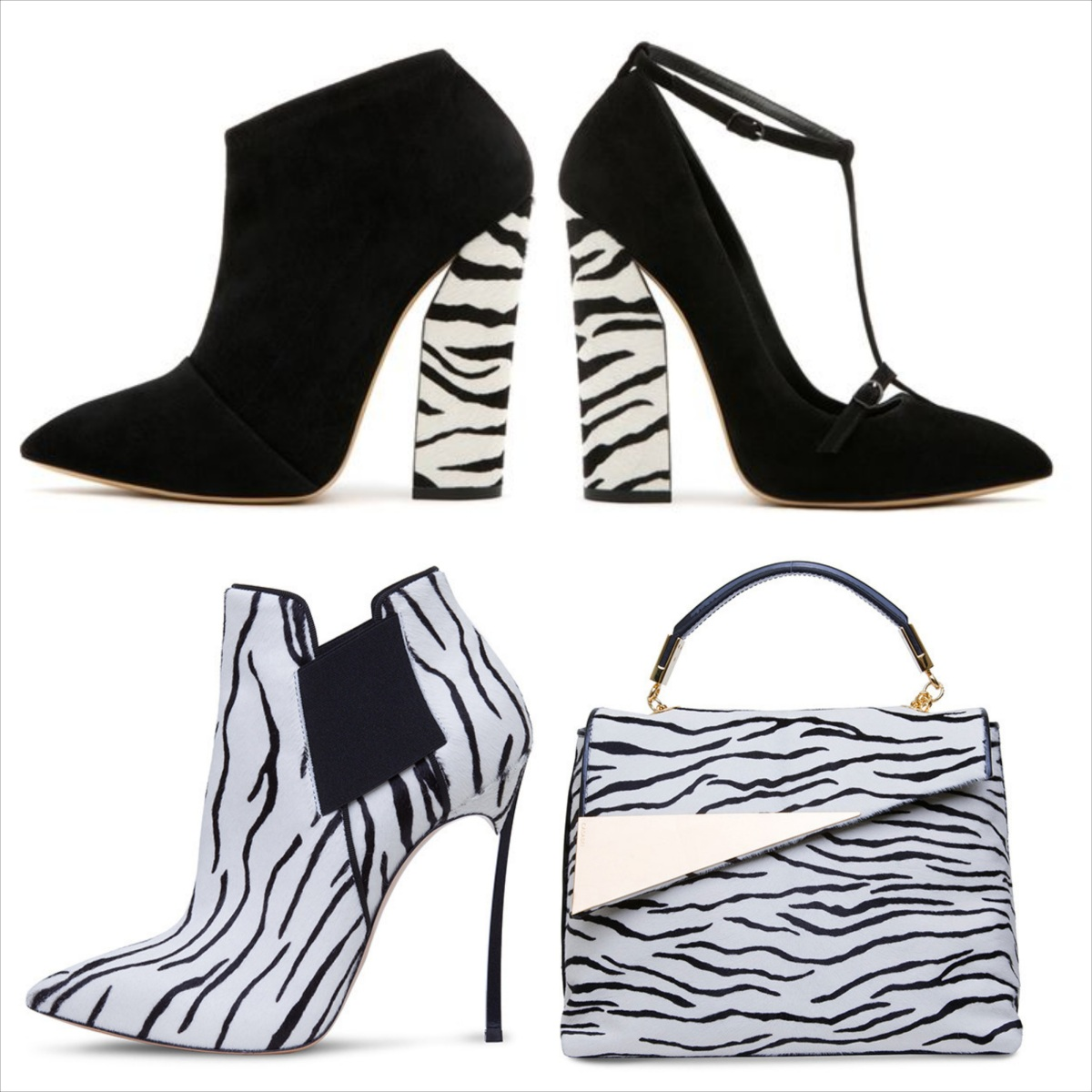 Casadei zebra Animalier collection