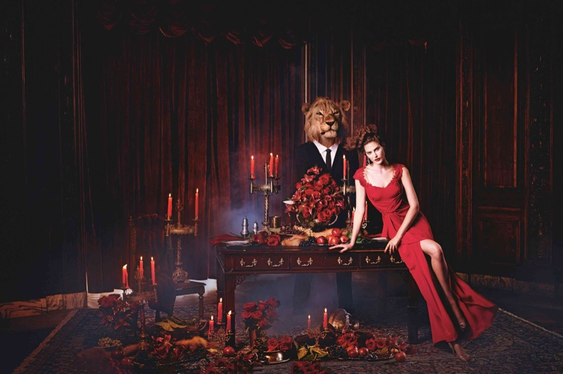 Catherine Mcneil & Jac Jagaciak for Neiman Marcus Holiday 2013