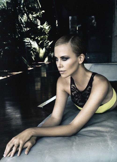 Charlize Theron by Patrick Demarchelier for Dior Magazine No.4