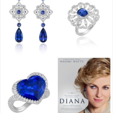 "Chopard jewelry for ""Diana"" the movie"