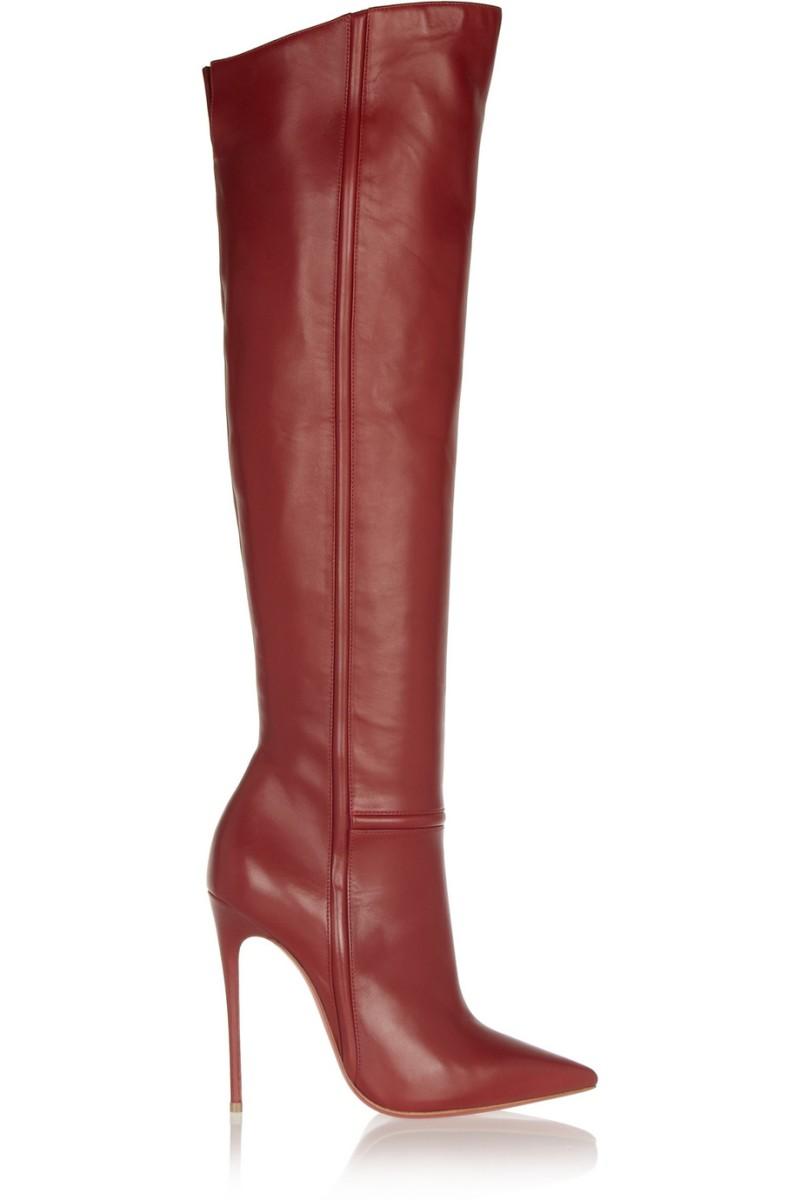CHRISTIAN LOUBOUTIN Armurabotta 120 leather over-the-knee boots €1,295
