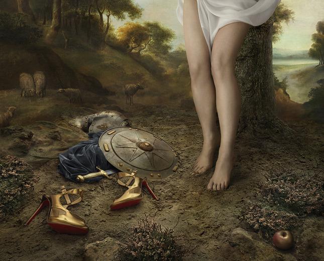 Christian Louboutin Fall 2013 LookBook by Peter Lippman