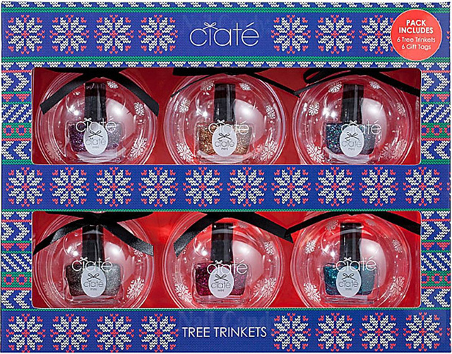 Ciaté Tree Trinkets collection for Christmas 2013