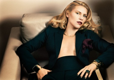 Claire Danes by Fabien Baron for Interview November 2013