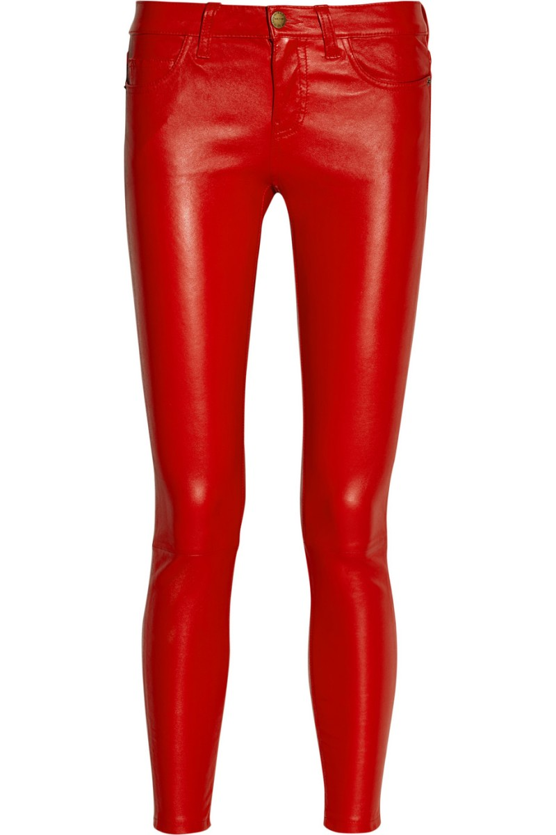 2986746045a22 CURRENT:ELLIOTT The Stiletto mid-rise leather leggings-style pants €1,091.