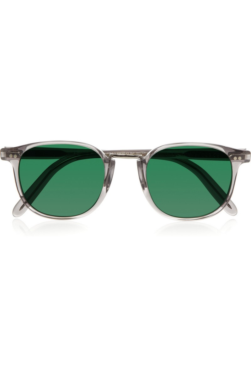 CUTLER AND GROSS Round-frame acetate and metal sunglasses €365.80