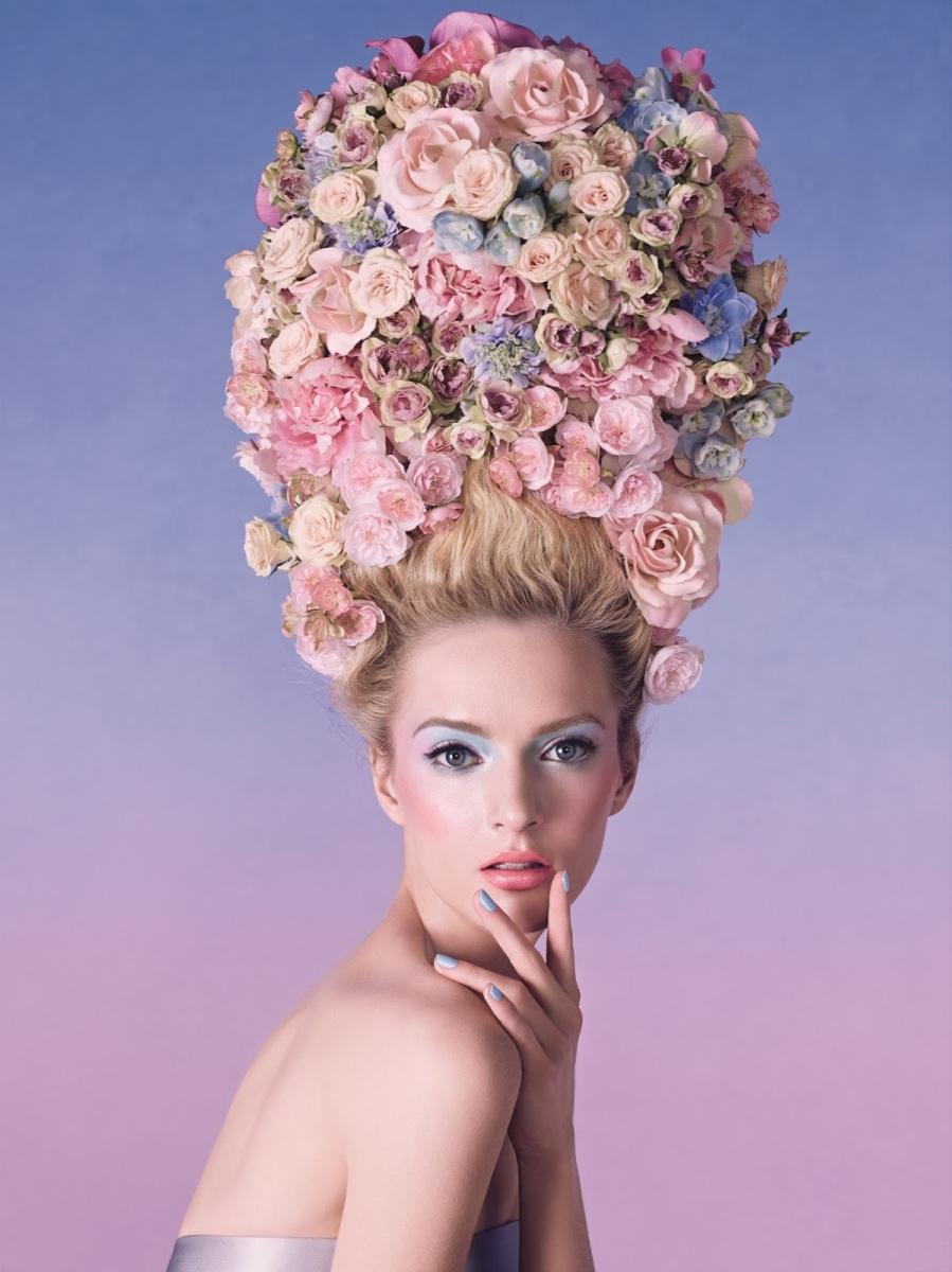 Daria Strokous for Dior Trianon Spring 2014 Collection